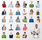 Gente varia e concetto di comunicazione globale
