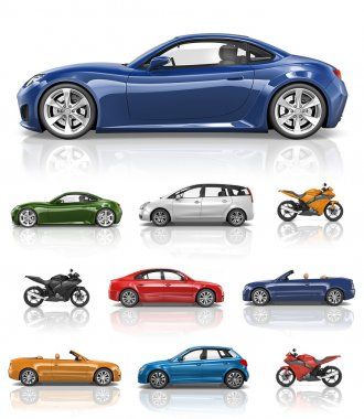 Design sports bikes and automobiles
