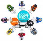 Podnikání a sociální média koncepce