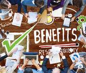 Fotografie Benefits Responsibility Concept