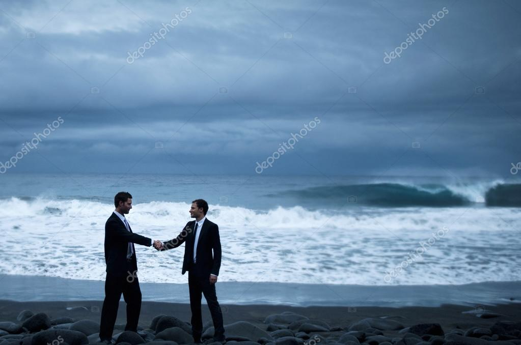 Businessmen Handshake Concept