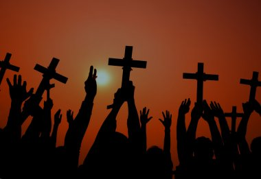 Catholicism Determination Spiritually Crucifix Concept