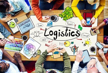 Business People and Logistic Concept