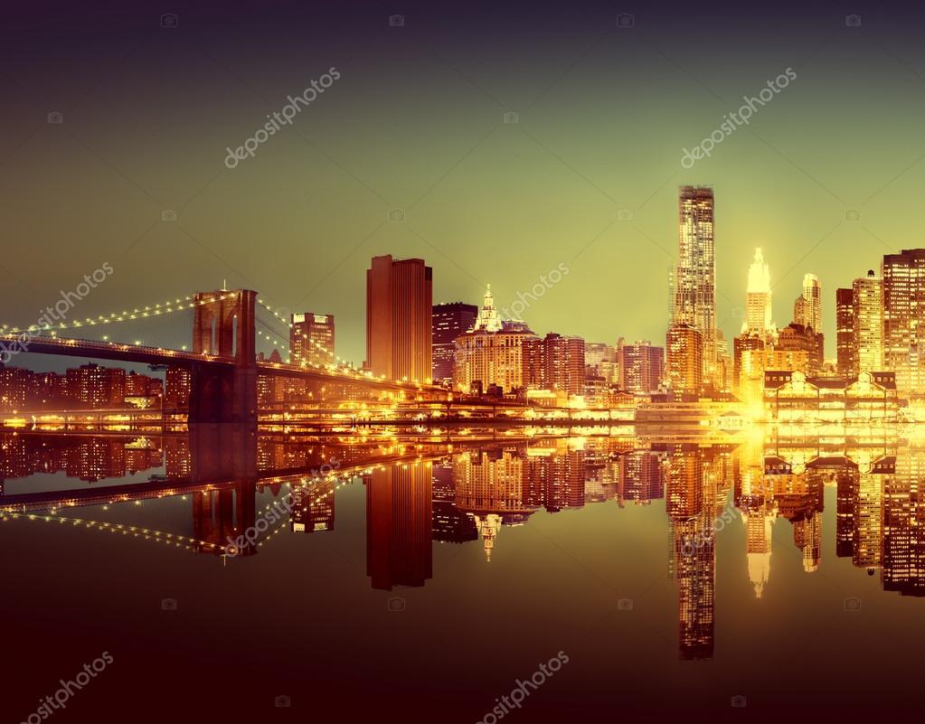 Beautiful modern cityscape