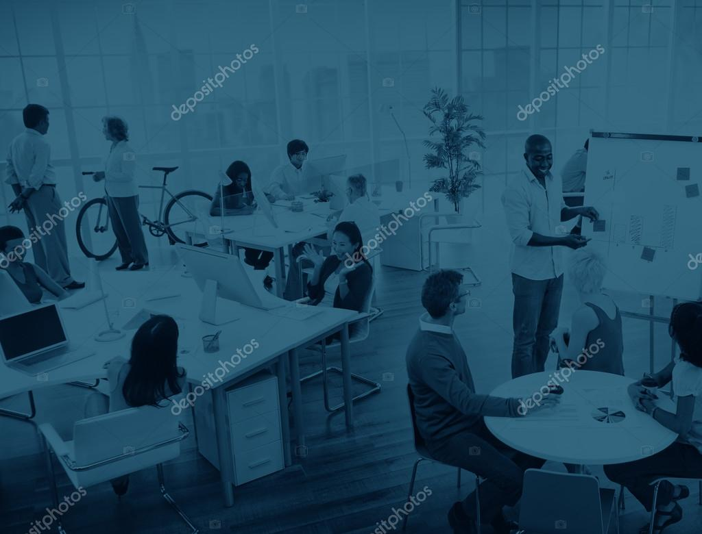 Business People at presentation in the Office