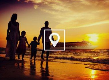 Location Navigation Destination Journey Concept