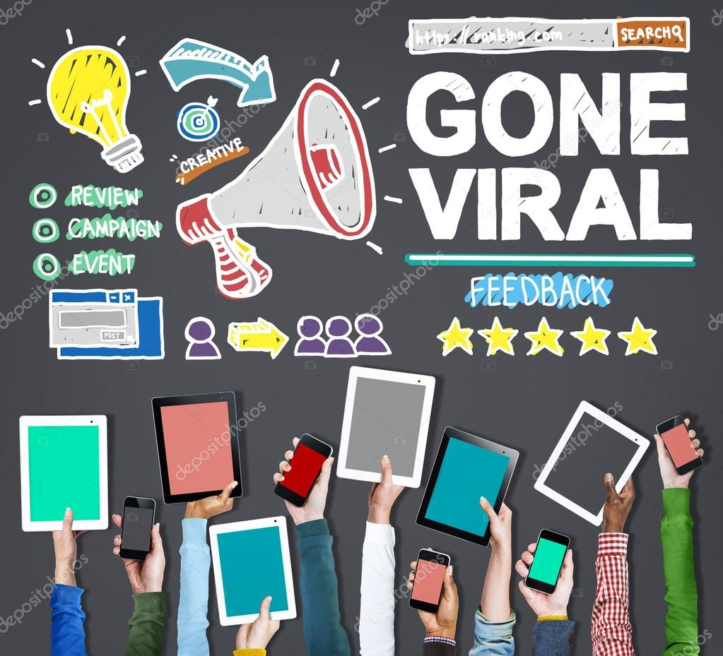 business people and Gone Viral