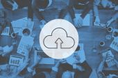 Fotografia cloud computing concetto di deposito