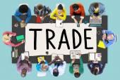 Fényképek Trade kereskedelmi Exchange