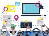 Internet-online-Konzept