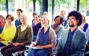 People on Seminar Training Concept