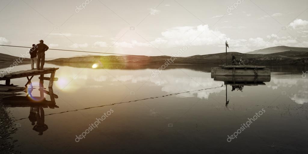 beauty Landscape River