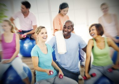 People Fitness Concept