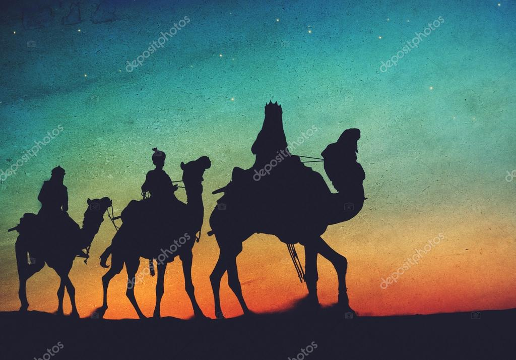 camels and three wise men