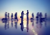 Handshake Business Corporate Concept