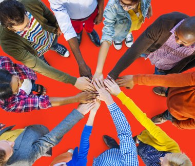 Team Corporate Teamwork Collaboration Concept