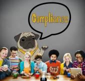 Fotografie Compliance Regulation Concept
