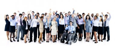 confident Business workers