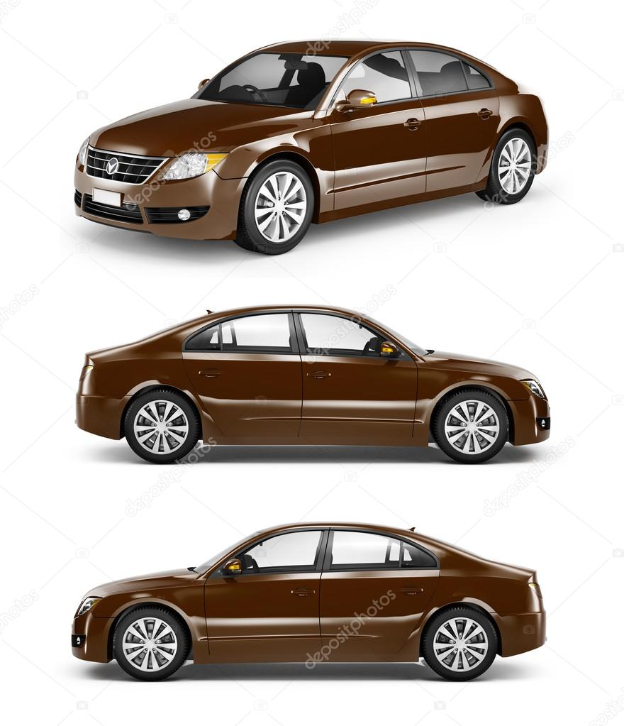 modern cars illustration