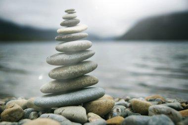 Zen Balancing Pebbles