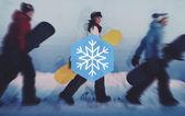 Fotografie Wintersaison-Schnee