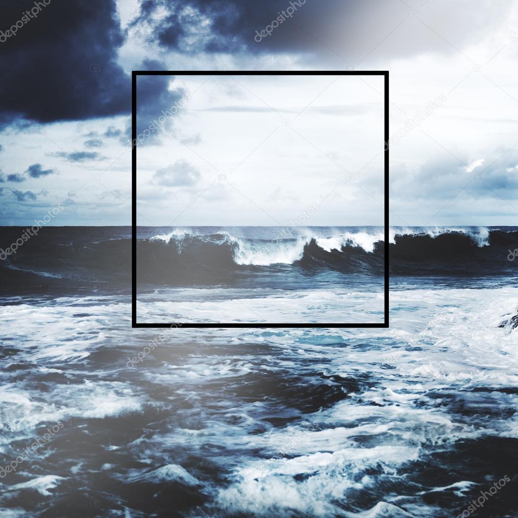 Frame Copy Space Square Concept