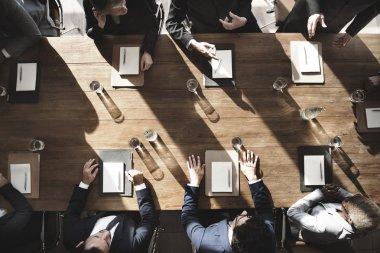 Meeting Corporate Success Concept