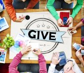 Fotografie Give, Support Provide Concept