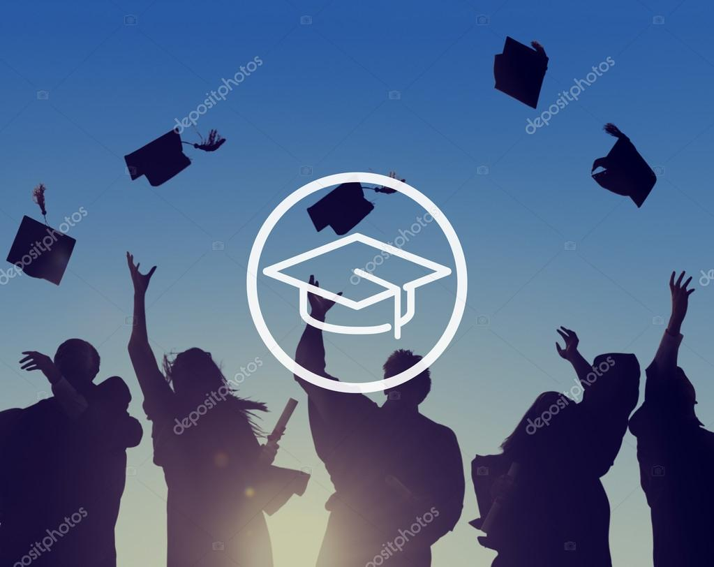 graduate silhouette images - HD1211×866