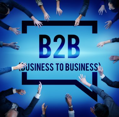 Business To Business Marketing Company Concept