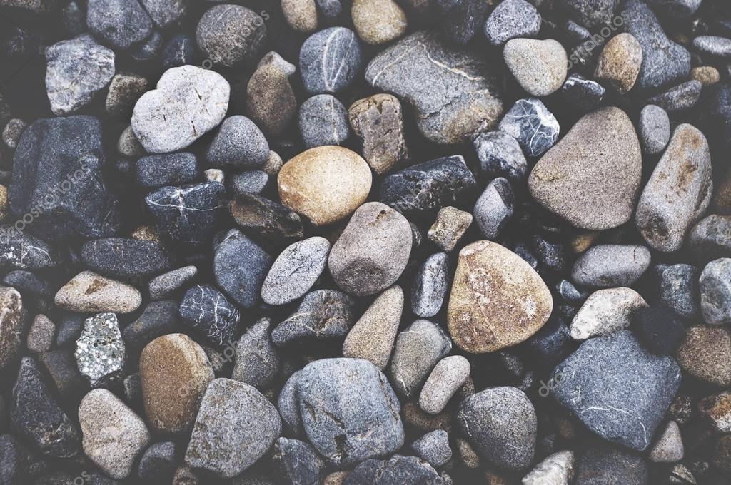 Multi Colored Pebbles Background