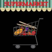 Trolley with food