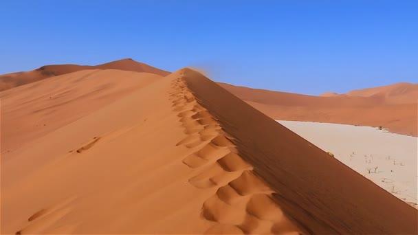 Sossusvlei Deadvlei Namibie zoom