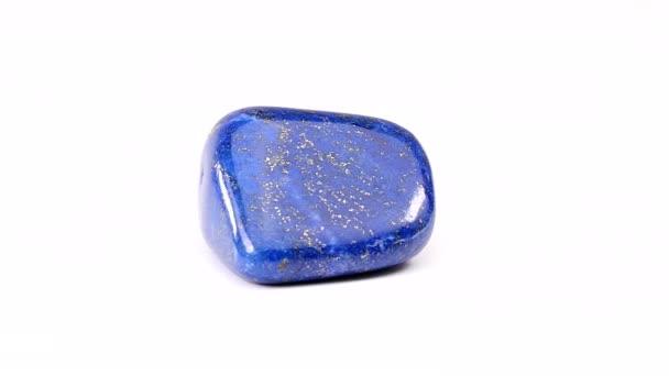 Lapis Lazuli otočit na bílém