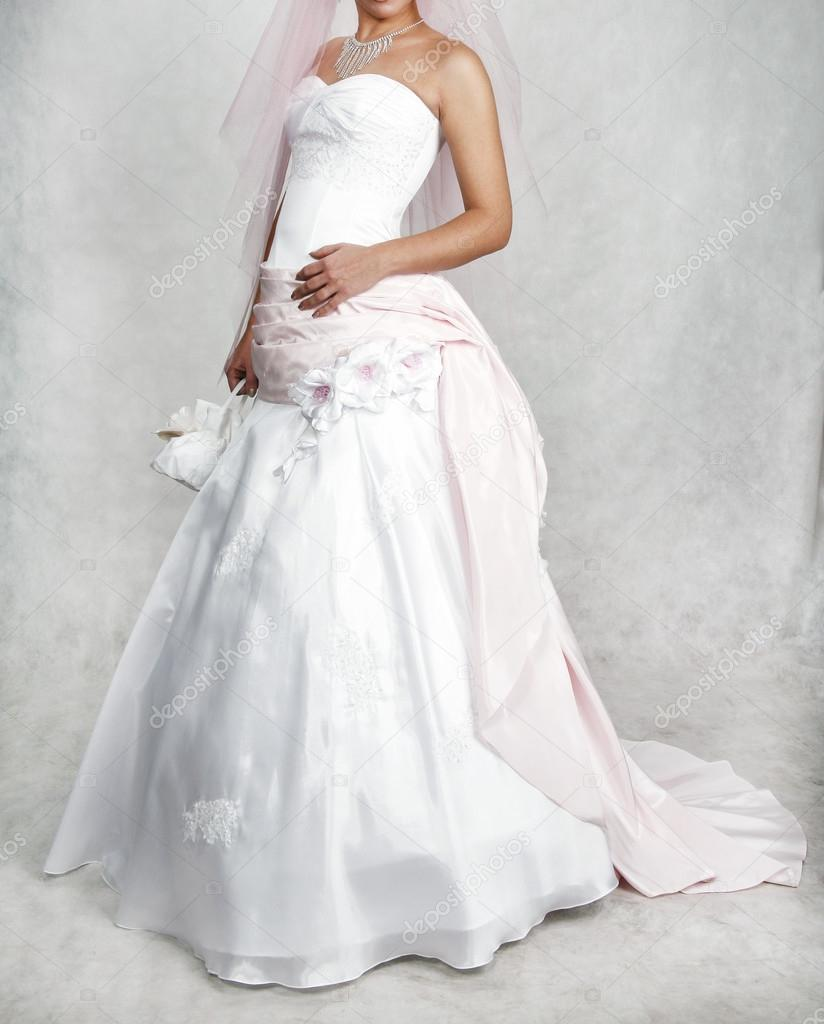 Wedding Dress Different Types Of Wedding Dresses Stock Photo