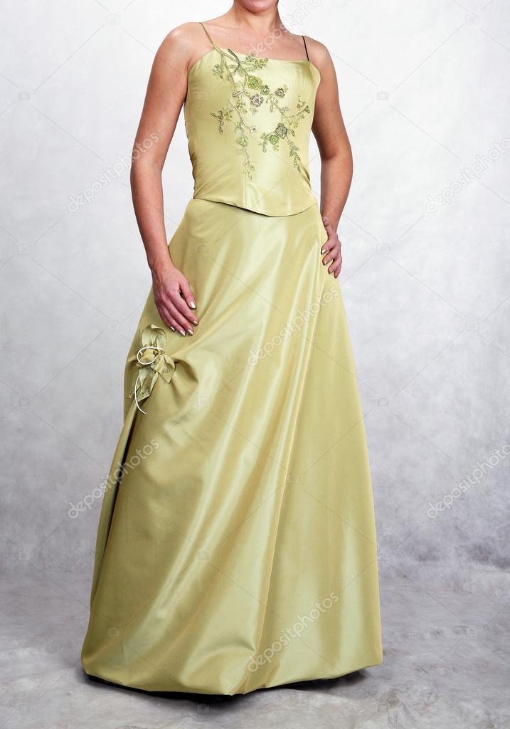 Hochzeit Kleid, verschiedene Arten von Brautkleider — Stockfoto ...