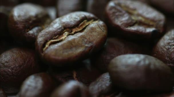 Geröstete Kaffeebohnen. Makro