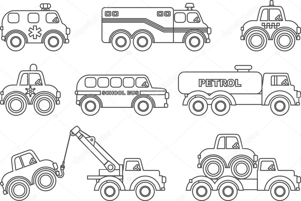 Stock Illustration Coloring Pages Set Of Different likewise Stock Illustration London Icons Set Big Ben Tower Bridge Cab Royal Crown Vector Illustration Image51778489 additionally Chicken Clipart Outline likewise Free Lighthouse Clipart Black And White further Cartoon Zoo Sign 17736803. on bus illustration