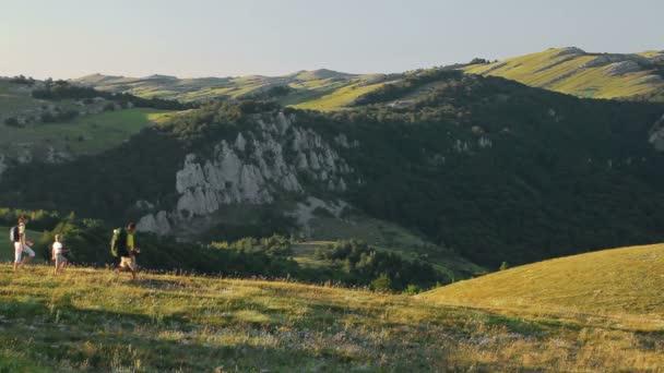 Családi trekking napján vidéken