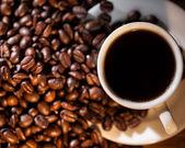 Csésze kávé és kávé