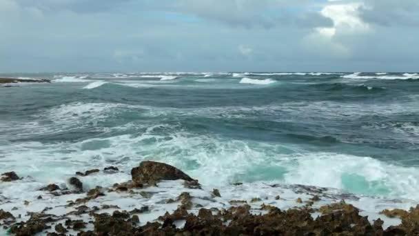 Ocean wave splash a zátony videó