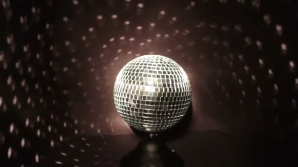 Disco Ball with White Lights