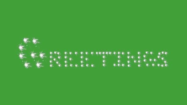 Greetings, green screen