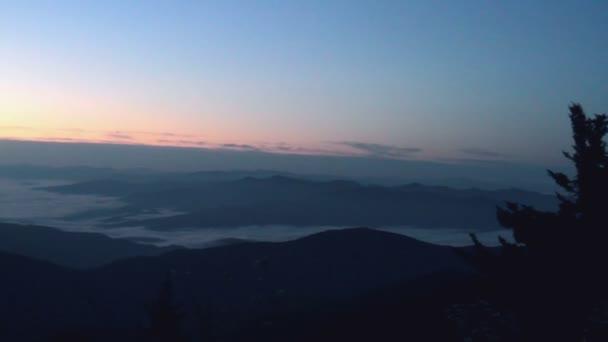 Panorama, Sunrise, Great Smoky Mountains