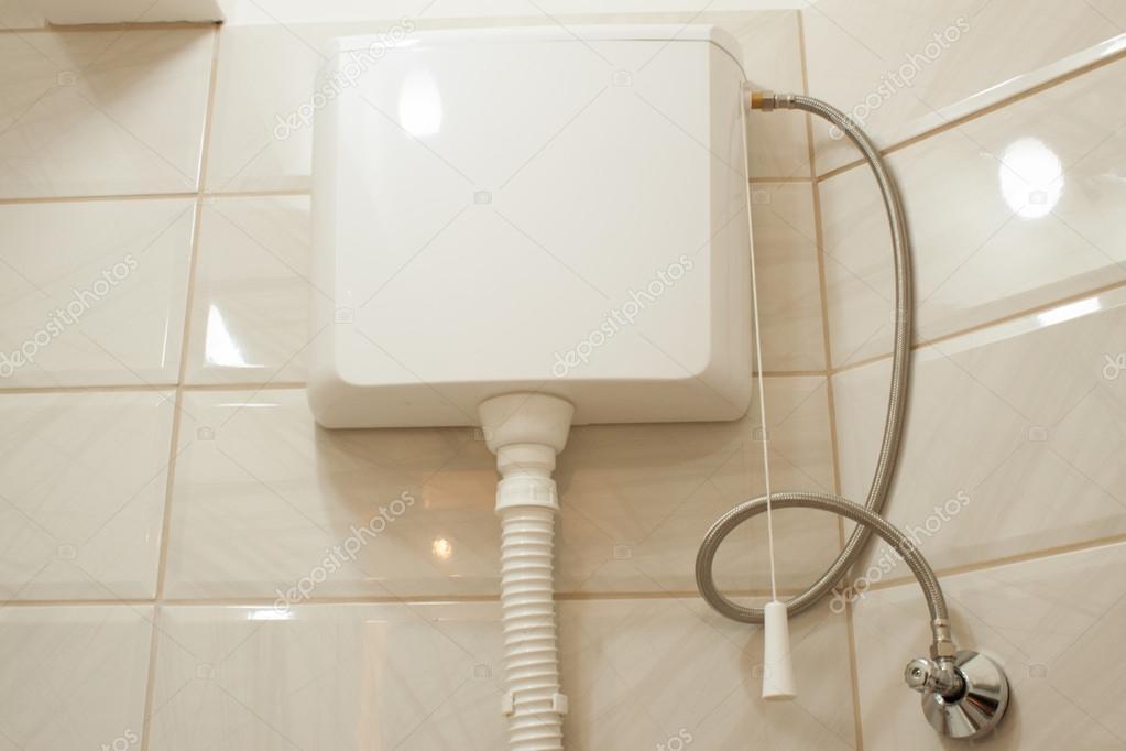 Decoratie Tegels Badkamer : Moderne badkamer met decoratieve tegels u stockfoto vladakela
