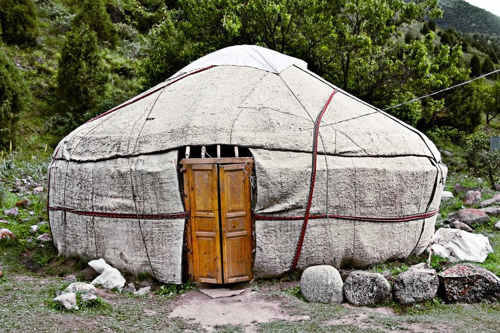 Kyrgyz national dwelling - yurta