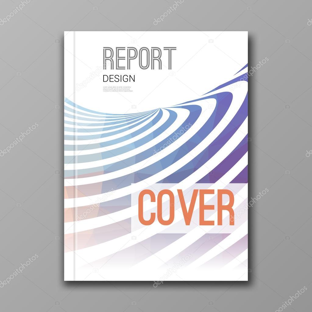 Business-Design-Vorlage. Decken Sie, Bericht, Buch, Broschüre ...