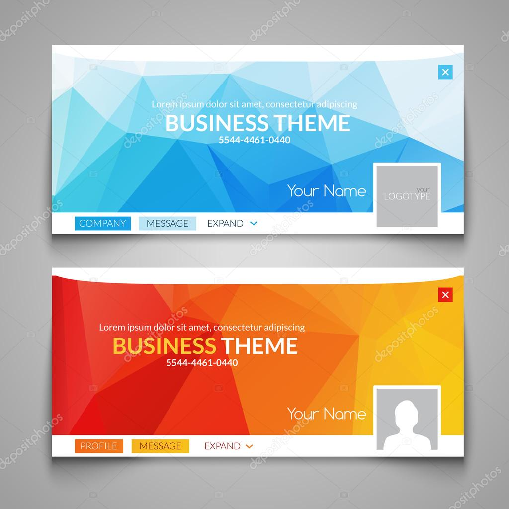 web business site design header layout template creative corporate