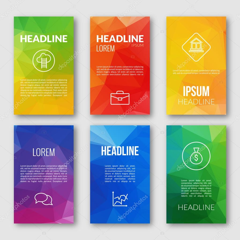mobile app design templates