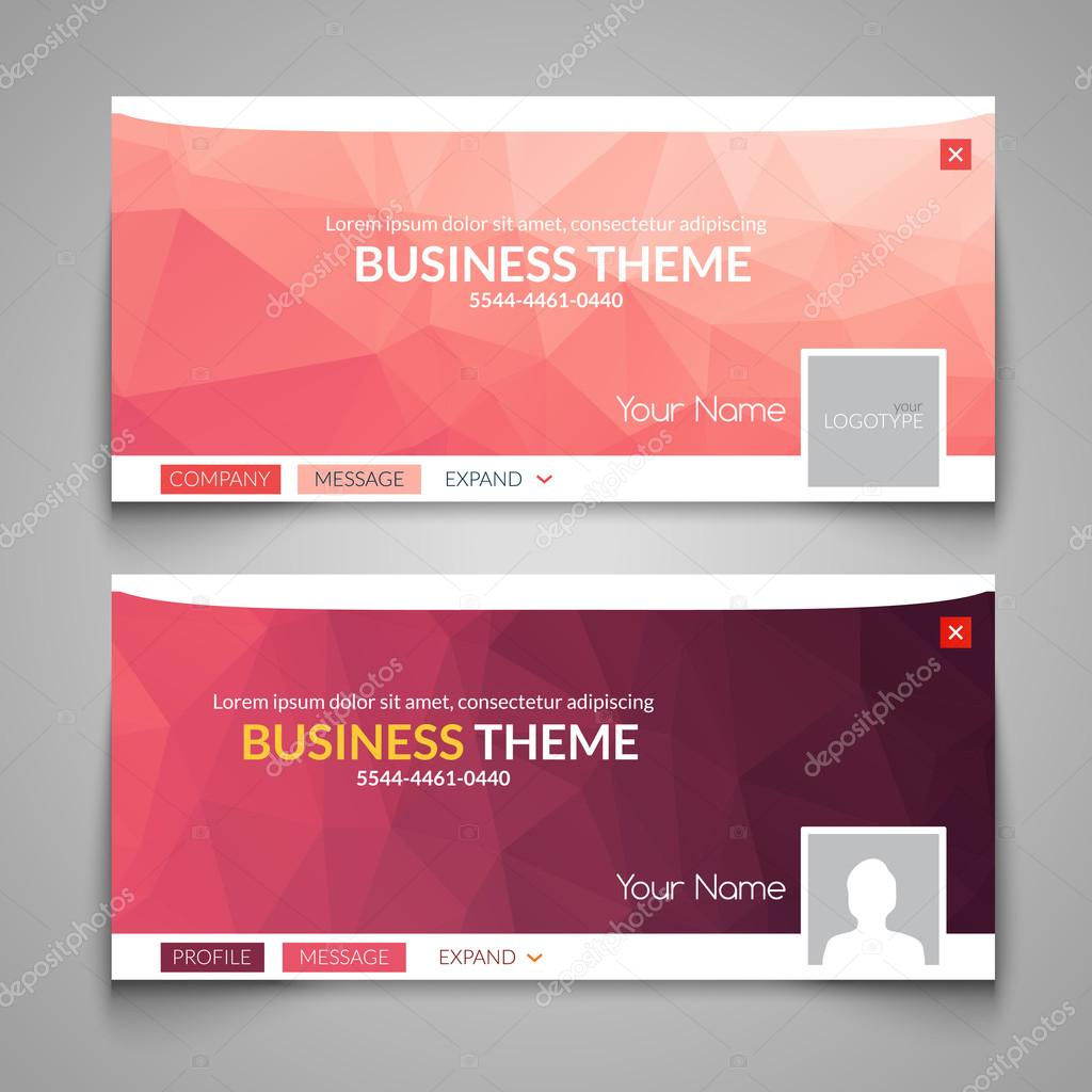 web business site design header layout template creative corporate advertisement cover web design layout banner header web design vector by